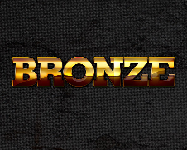 Bronze Metallic Photoshop Style by aanderr