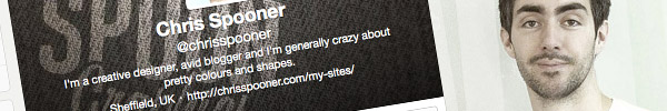 The Making of My New Twitter Background Design
