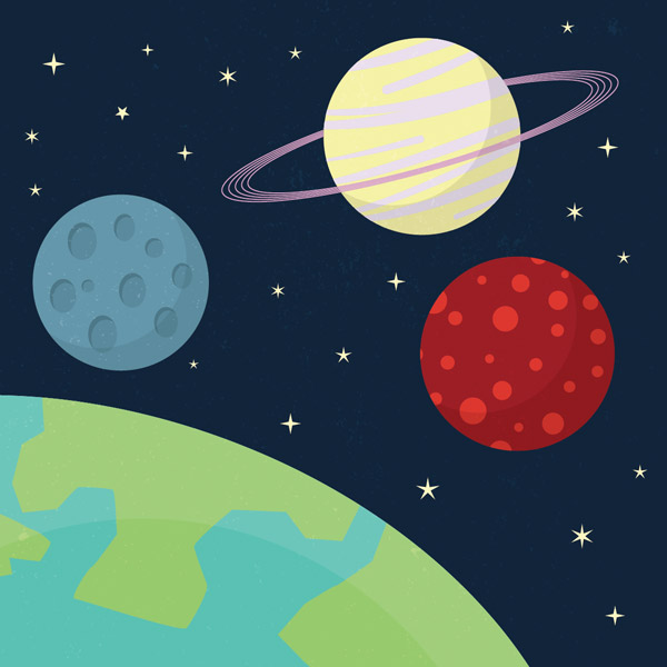 drawings of planets animation - photo #48