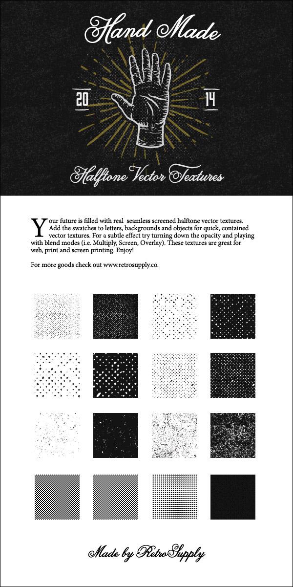 VectorSupply Halftone Textures