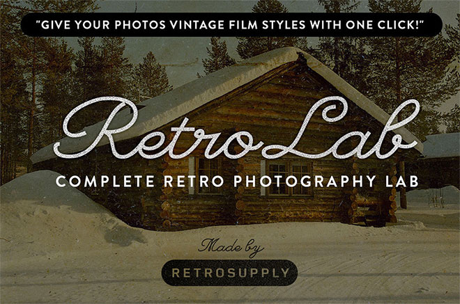 RetroLab - Retro Photo Lab