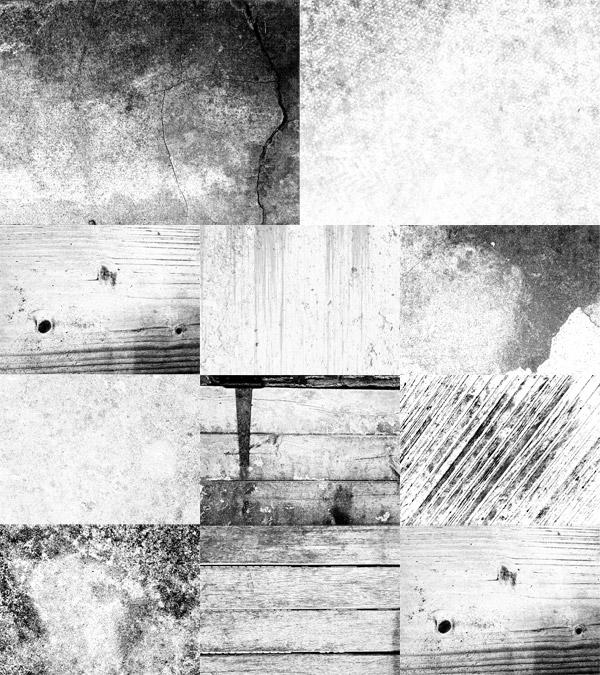 Vintage textures preview