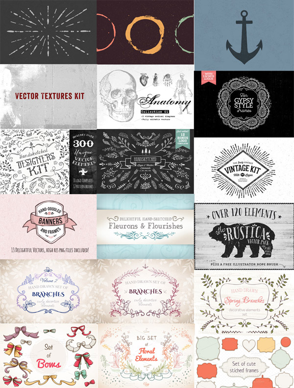Ultimate Creative Vectors Bundle