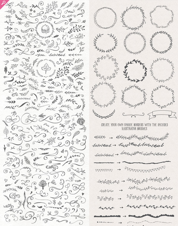 Handsketched Designers Kit