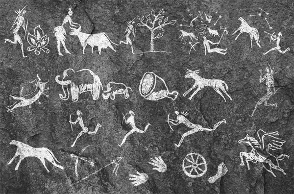 Cave Painting Vectors