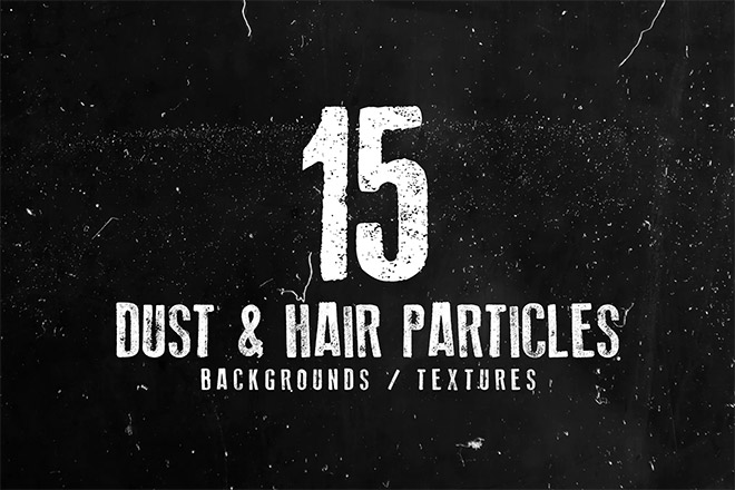 15 Dust and Hair Particles Backgrounds
