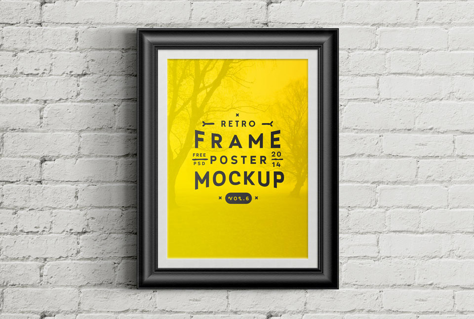 e464f118d917 20 Free PSD Templates to Mockup Your Poster Designs