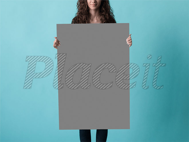 Poster Mockup of Pretty Woman by Placeit