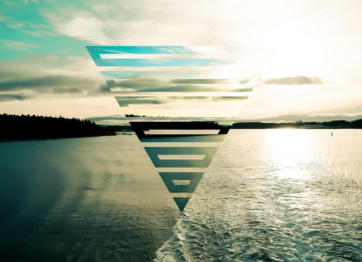 Inspiring Artwork Combining Geometry Photography