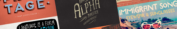 A Retro & Vintage Fonts Deal That's Too Good to Miss