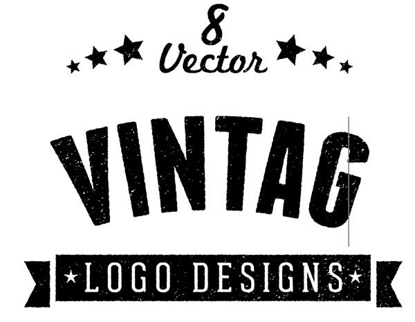 8 Free Customizable Vector Vintage Style Logo Designs