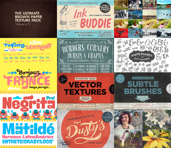 Design resources variety pack