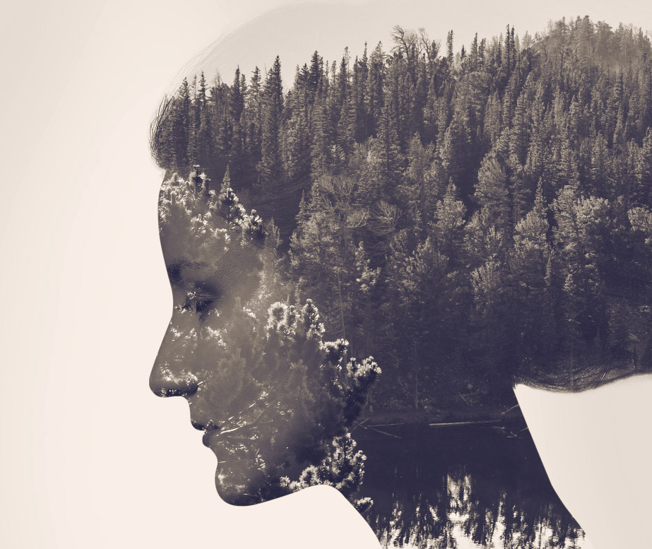 How To Create A Double Exposure Effect In Photoshop - Photographer combines photoshops his own photos to create surreal landscapes
