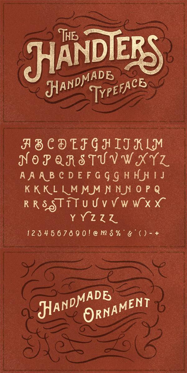 Handters font preview
