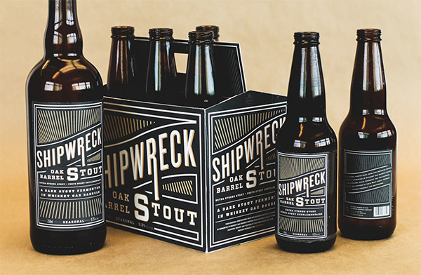 Shipwreck Oak Barrel Stout by Zia Somjee