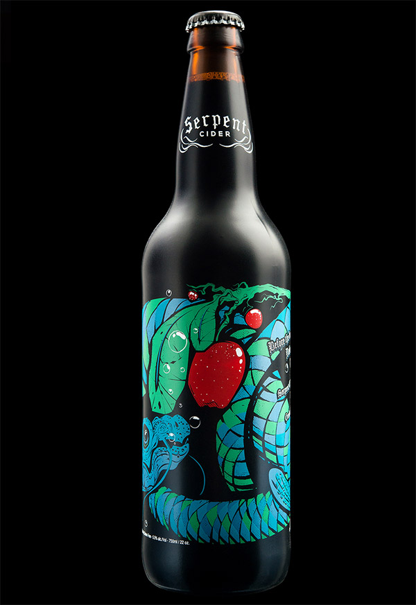 Serpent Cider by Hired Guns Creative