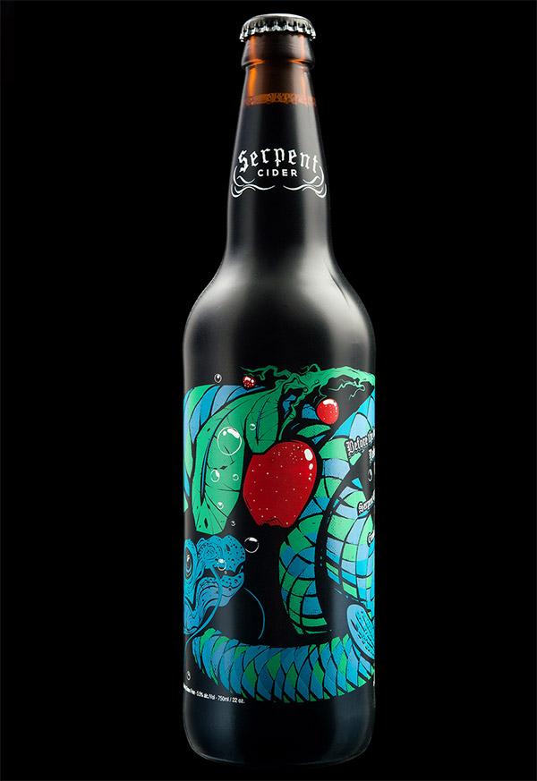 Serpent Cider by Hired Guns Creative
