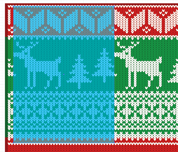 a1b0ea858f4cd How To Create a Christmas Jumper Pattern in Illustrator