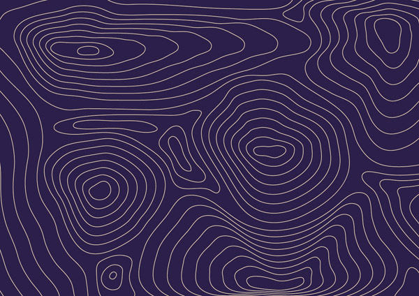 Line Texture Illustrator : How to create a contour map effect in illustrator