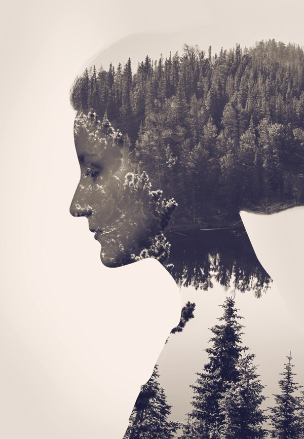 http://blog.spoongraphics.co.uk/tutorials/how-to-create-a-double-exposure-effect-in-photoshop