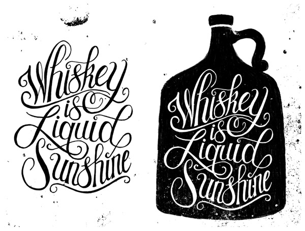 Whiskey is Liquid Sunshine by Nate Azark