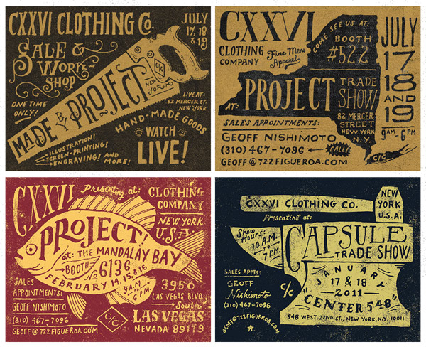 CXXVI Clothing Co. by Jon Contino