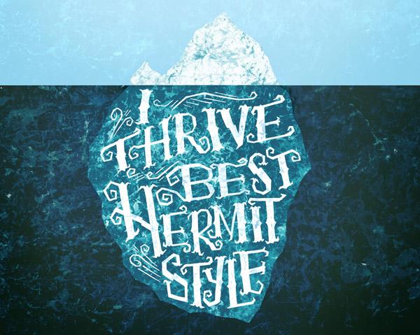 Hermit Iceberg by Mary Kate McDevitt