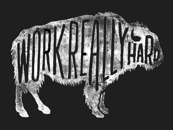 Work Really Hard by Zachary Smith