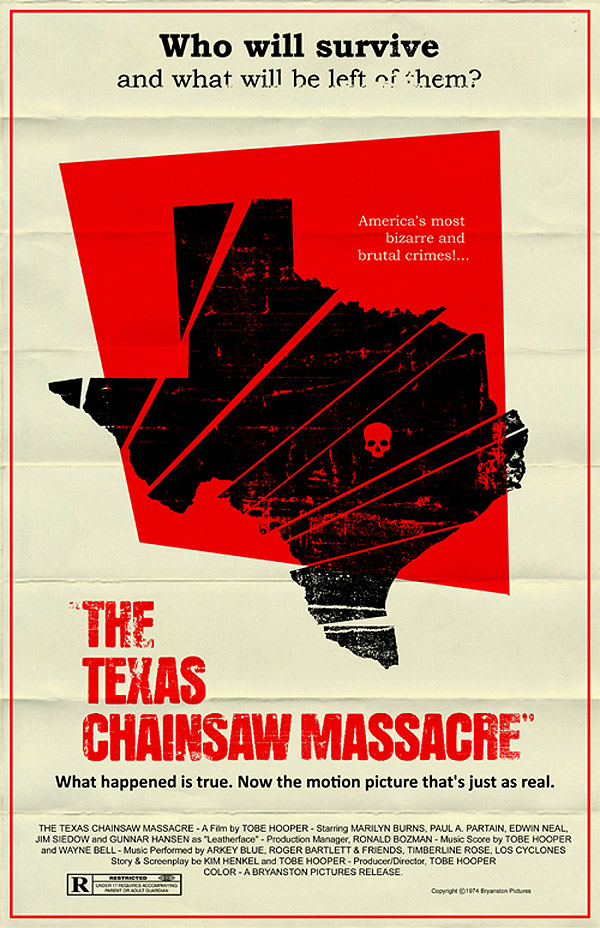 Texas Chainsaw Massacre Poster by Mark Welser