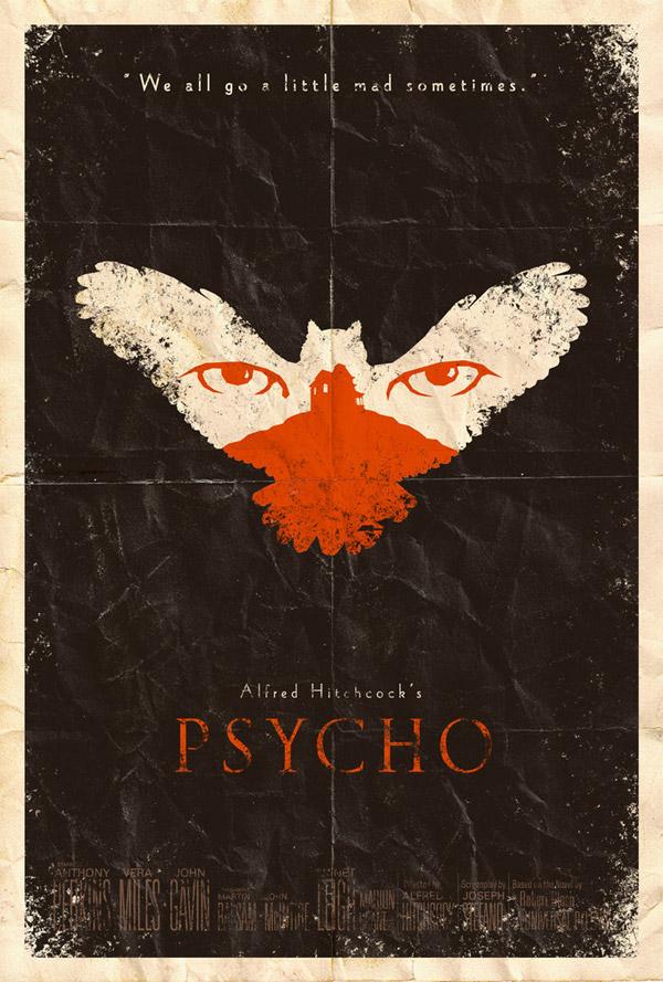 Psycho Poster by Adam Rabalais