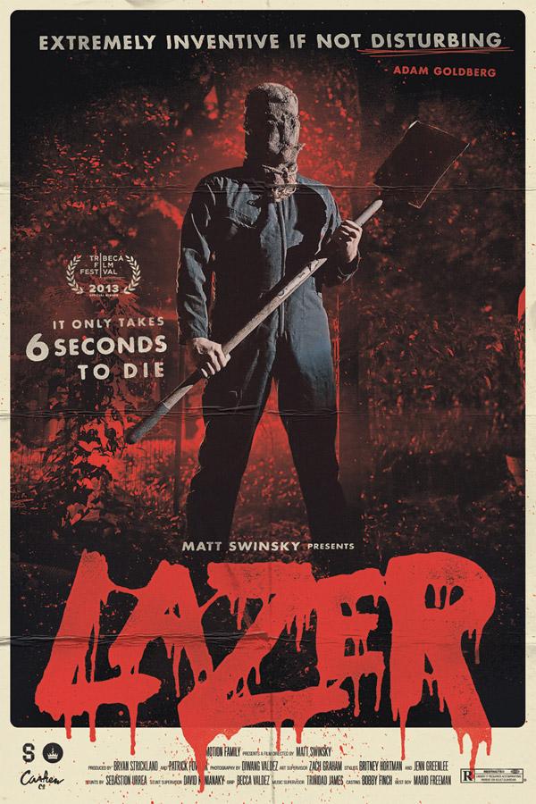 Lazer Poster by Zach Graham