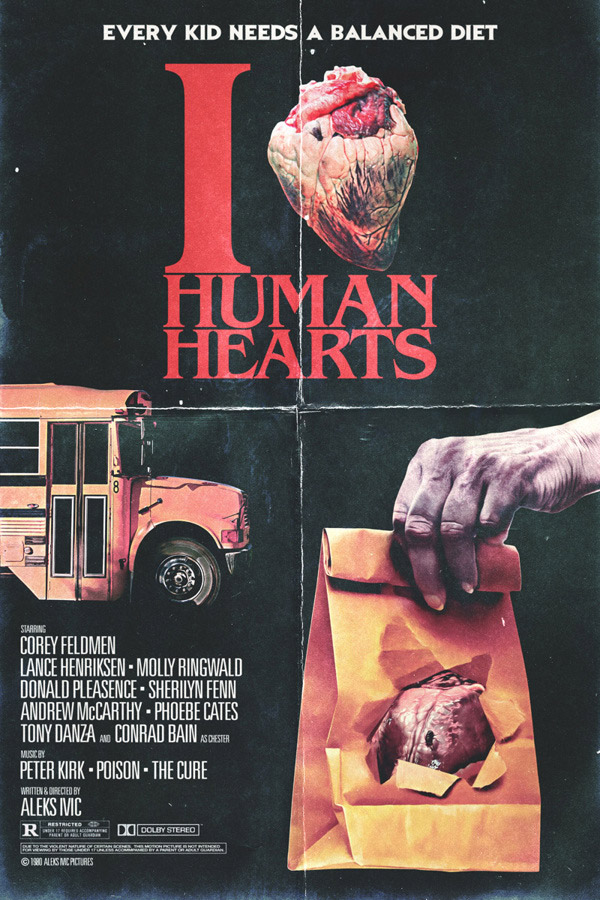 I Heart Humans Hearts by Aleks Ivic