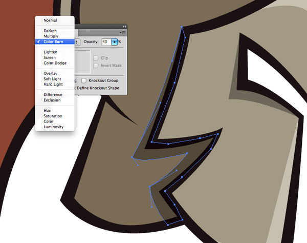 how to change to vector in illustrator
