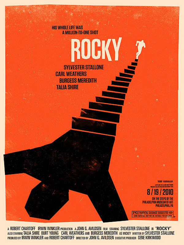 Rocky by Olly Moss