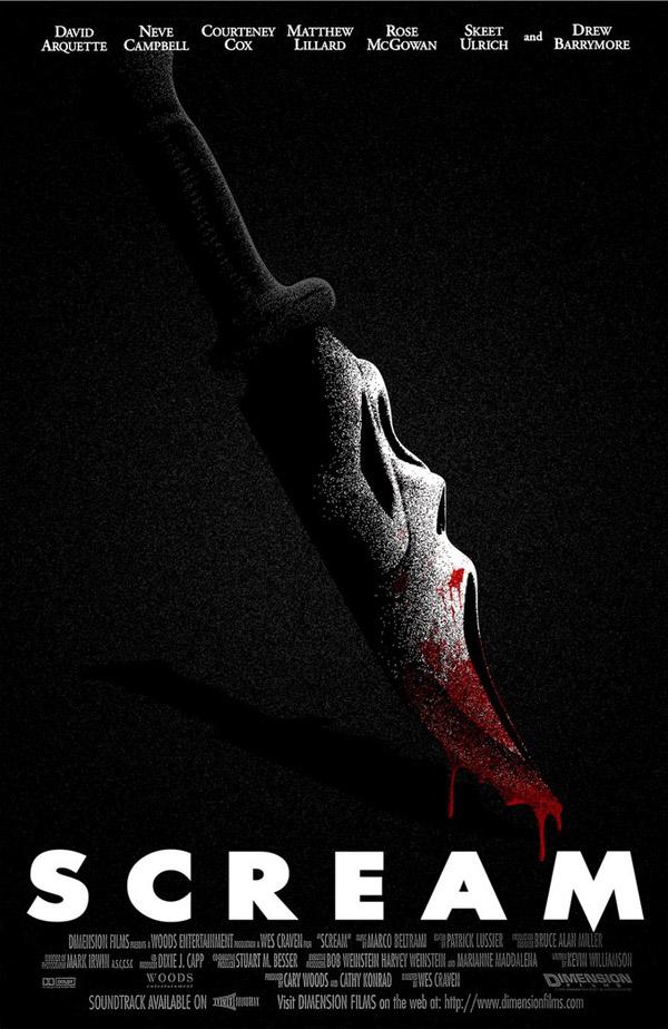 Scream poster by samraw08