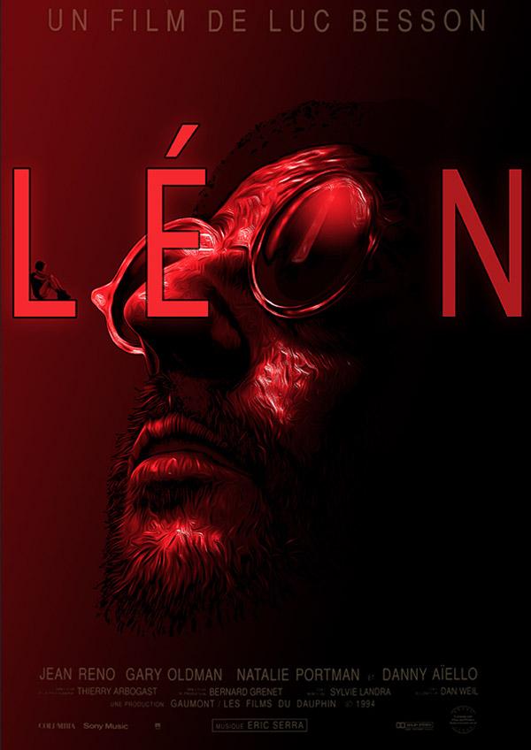 Leon Minimalist Poster by 3ftDeep
