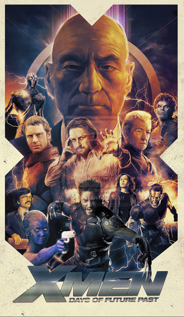X-Men Days of Future Past by turk1672