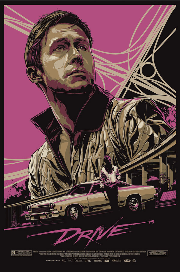 Drive Movie Poster by Ken Taylor