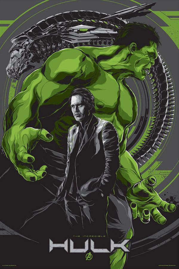 Hulk Movie Poster by Ken Taylor