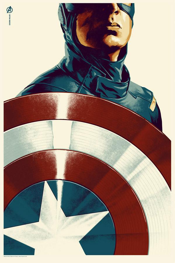 Captain America by Justin Erickson