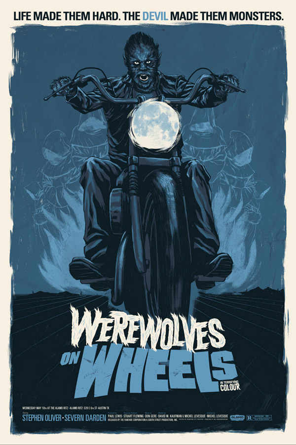 Werewolves on Wheels by Justin Erickson