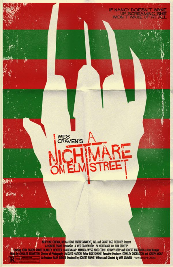 Nightmare on Elm Street Poster by markwelser