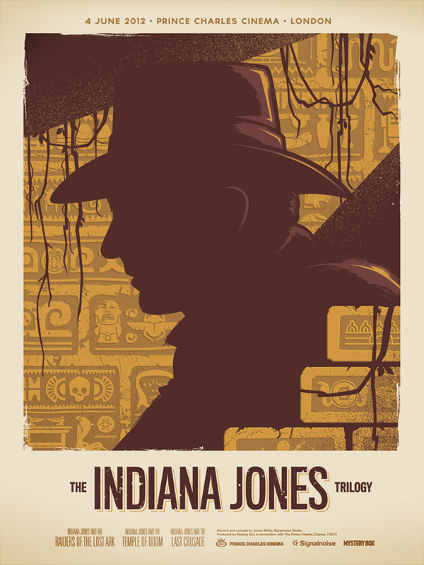 Indiana Jones Trilogy by James White