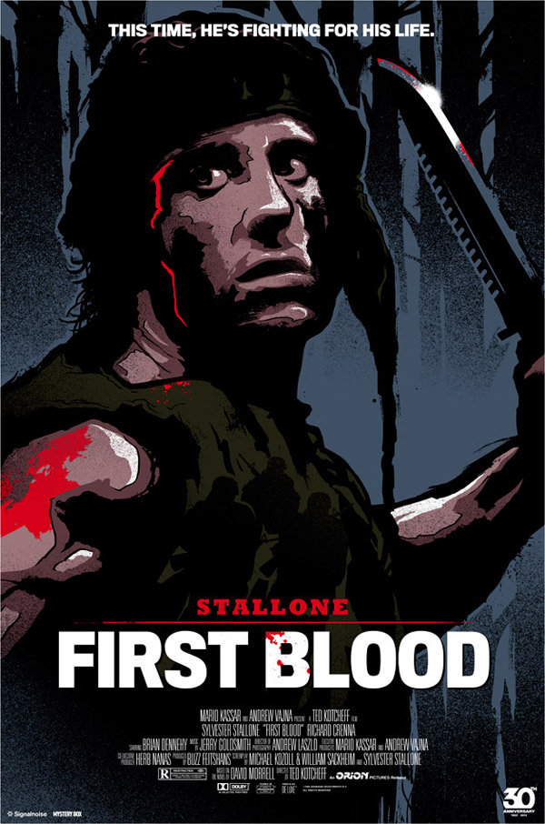 First Blood by James White