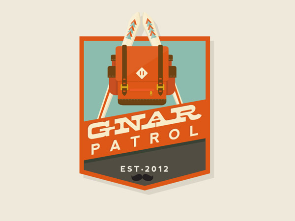 Gnar Patrol by Meg Robichaud