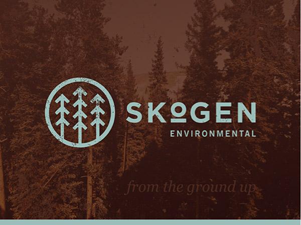 Skogen Environmental Identity by Quincy Harriman