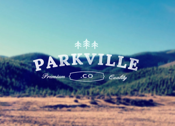 Parkville.co Identity by Christine Calo