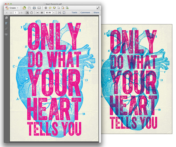 How to Overprint Colors to Create Cool Print Effects 77c8de881
