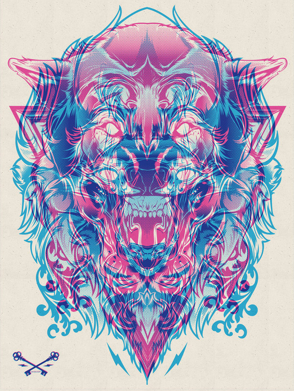 Wolf & Lion by Joshua M. Smith