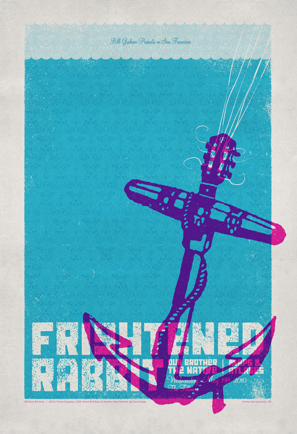 Frightened Rabbit Poster by withayou